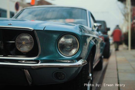 classic ford mustang restoration