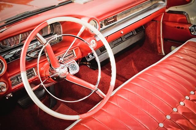 Classic American Car Interior