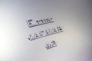 E-Type Jaguear 4.2 badge