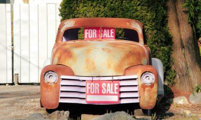 Classic American Barn Find Car